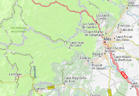 Carte-Plan Saint-Jean-du-Gard