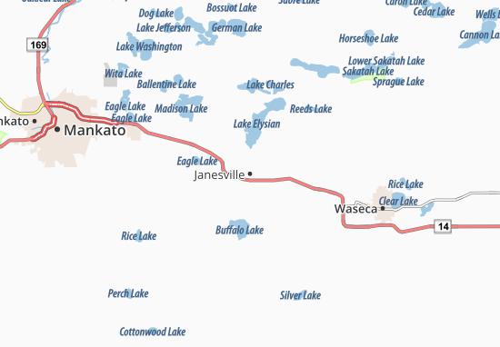 Janesville Map