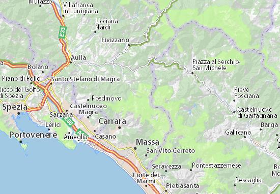 vinca mapa Mapa Vinca   plano Vinca  ViaMichelin vinca mapa