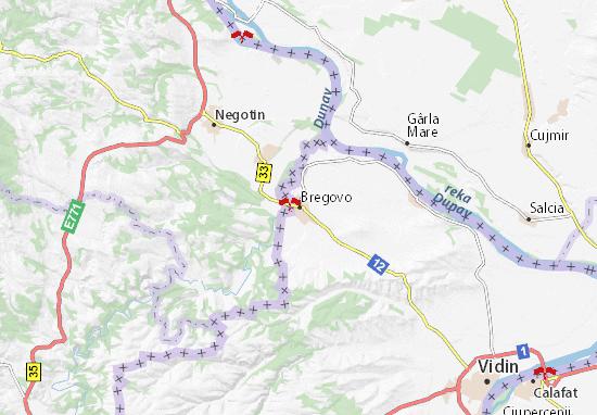 Bregovo Map
