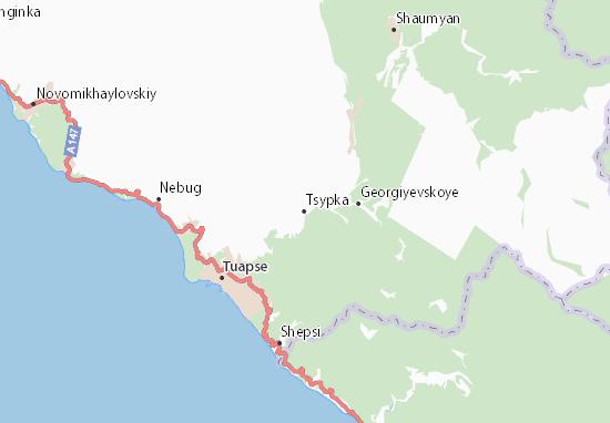 Carte-Plan Tsypka