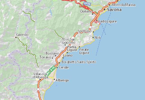 Mappe-Piantine Borgio