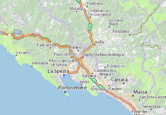 Mappe-Piantine Santo Stefano di Magra