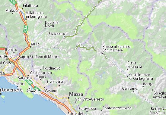 Mappe-Piantine Minucciano
