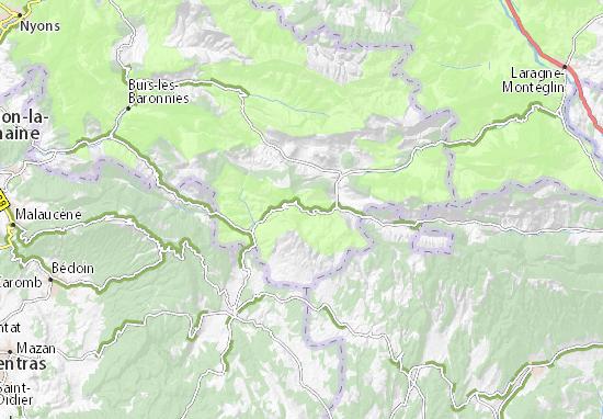 Barret-de-Lioure Map