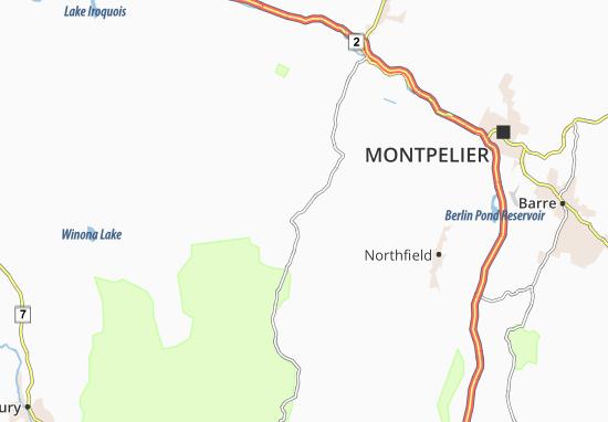Waitsfield Map