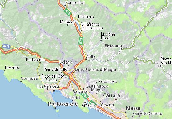 Mappe-Piantine Aulla