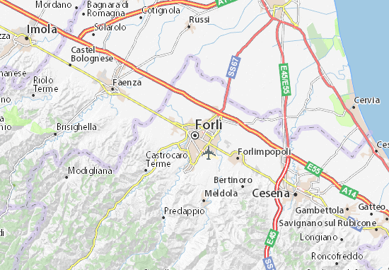 Carte-Plan Forlì