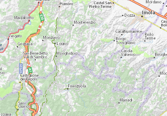 Mappe-Piantine Giugnola