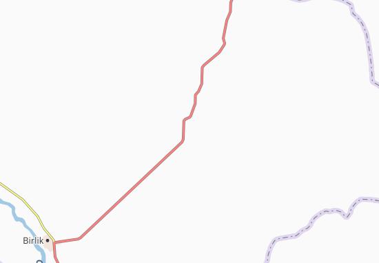 Khantau Map