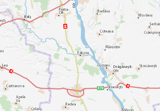 Fălcoiu Map