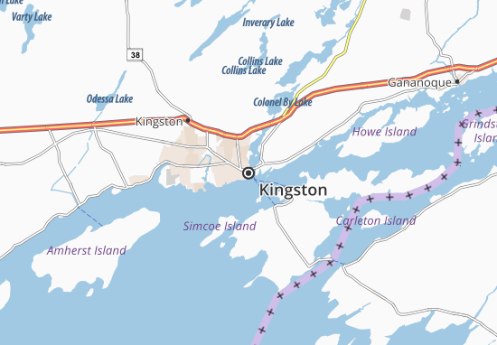 Kingston Map