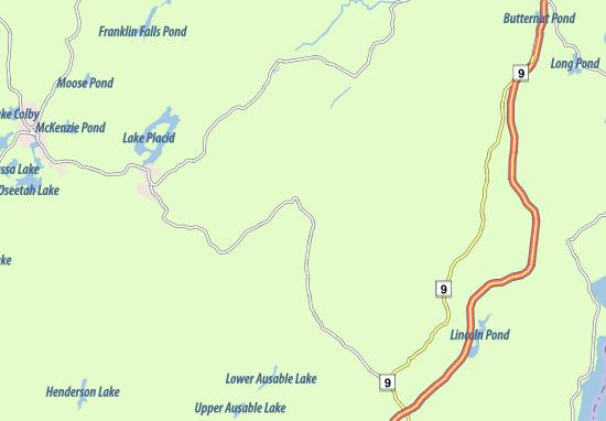 Keene Map