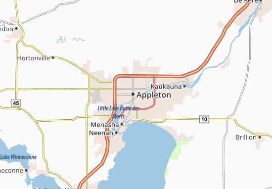 Carte-Plan Appleton