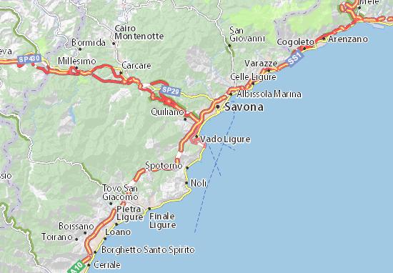 Mappe-Piantine Vado Ligure