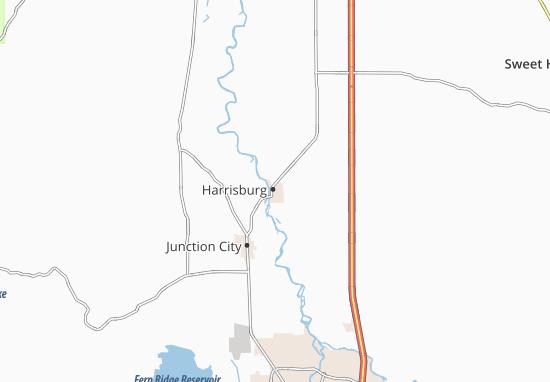 Carte-Plan Harrisburg