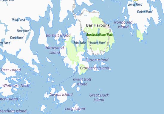 Southwest Harbor Map
