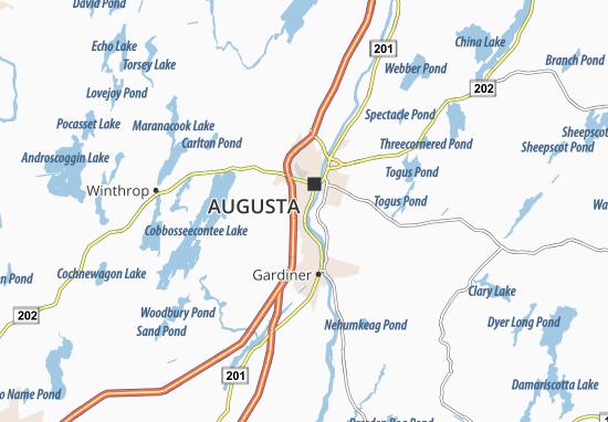 Hallowell Map