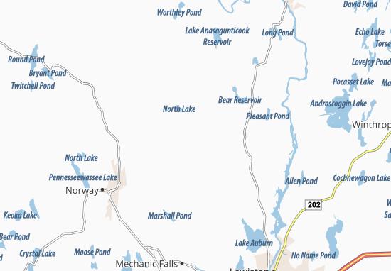 Buckfield Map