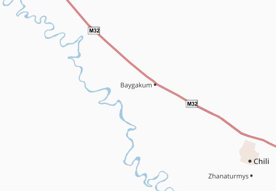 Zhulek Map