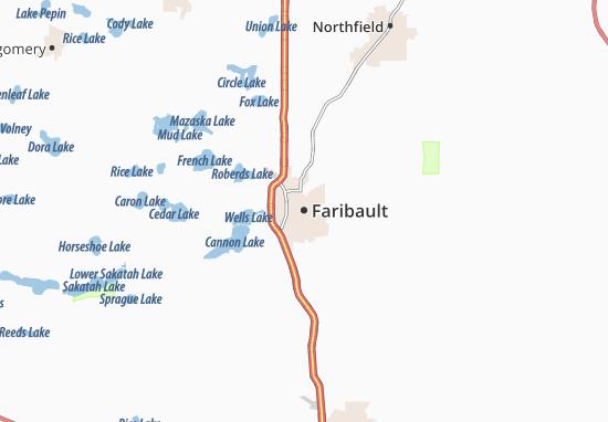 Faribault Map