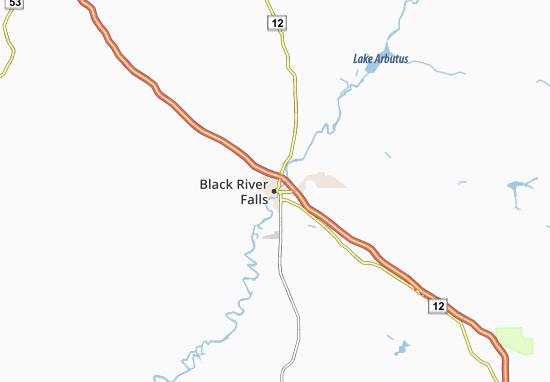 Black River Falls Map