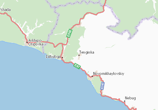 Tenginka Map
