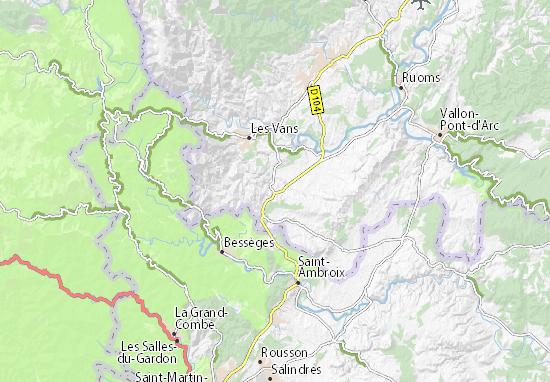 36d040df4c Carte détaillée Les Avelas - plan Les Avelas - ViaMichelin