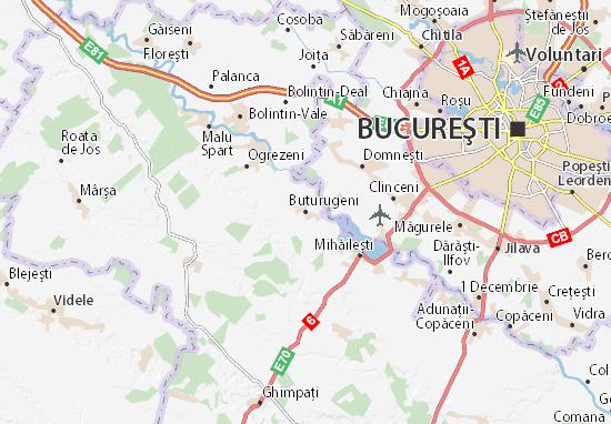 Mapa Plano Buturugeni
