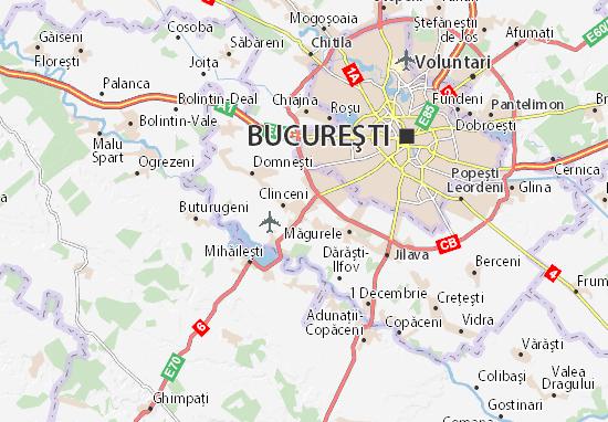 Kaart Plattegrond Bragadiru
