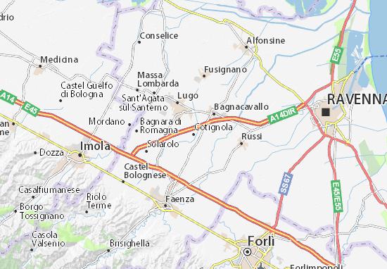 Mapas-Planos Cotignola