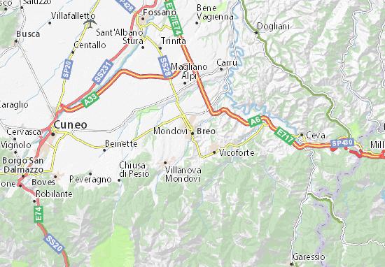 Mappe-Piantine Mondovì