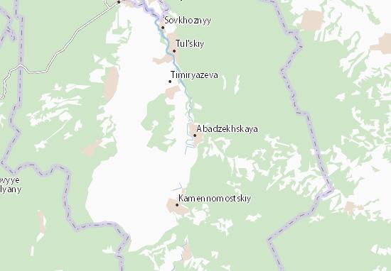 Abadzekhskaya Map