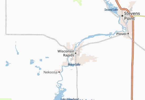Wisconsin Rapids Map