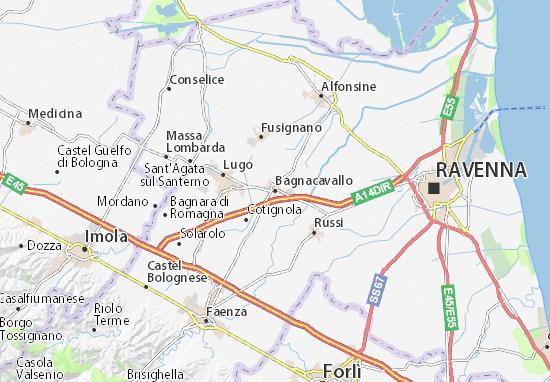 Mappe-Piantine Bagnacavallo