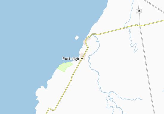 Carte-Plan Port elgin