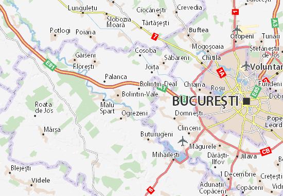 Mihai Vodă Map