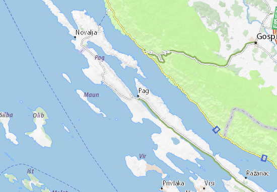 Pag Map