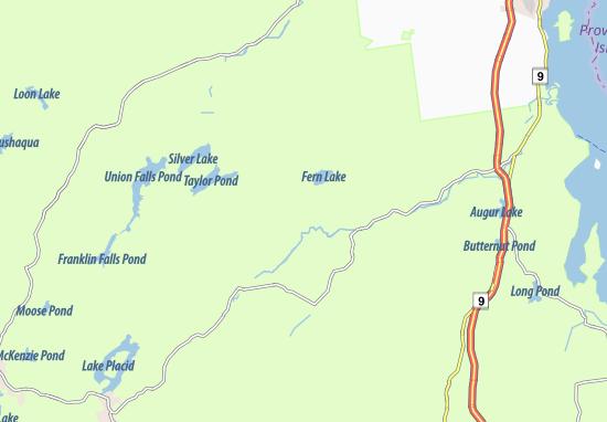 Mapas-Planos Black Brook