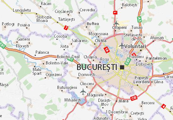 Mapa Plano Dragomireşti-Deal