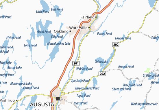Vassalboro Map