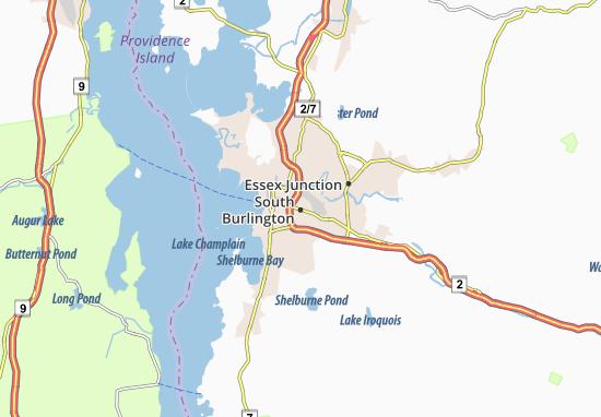 South Burlington Map
