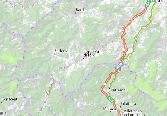 Mappe-Piantine Borgo Val di Taro