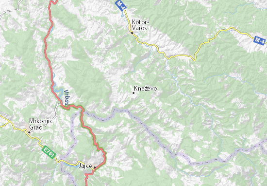 Carte-Plan Kneževo
