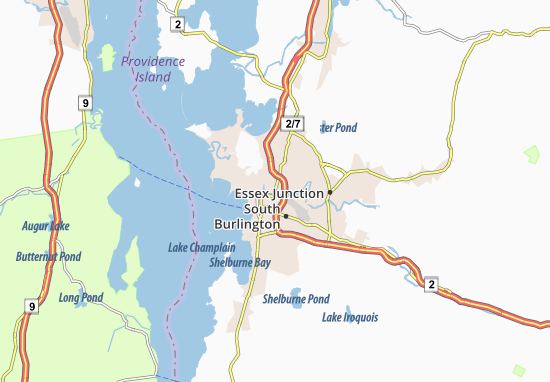 Winooski Map