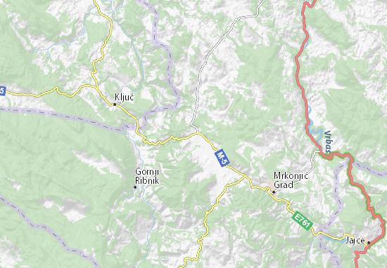Čađavica Map