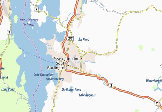 Essex Junction Map