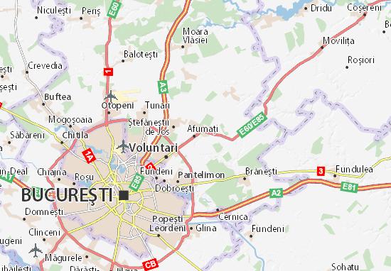 Afumaţi Map