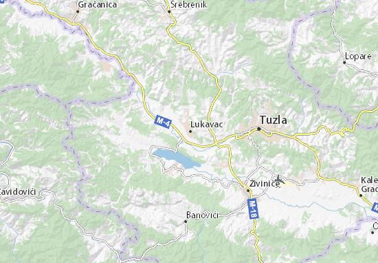 Mapa Plano Lukavac
