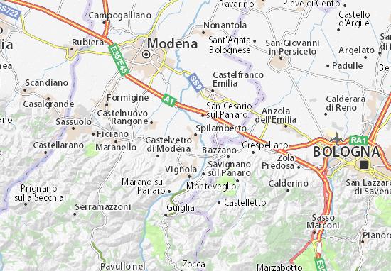 Mappe-Piantine Spilamberto